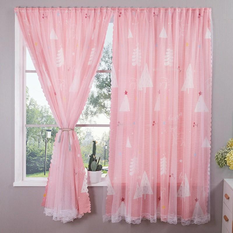 ☃▲ผ้าม่านประตู ผ้าม่านหน้าต่าง ผ้าม่านสำเร็จรูป ม่านเวลโครม่านทึบผ้าม่านกันฝุ่น ใช้ตีนตุ๊กแก C2S2