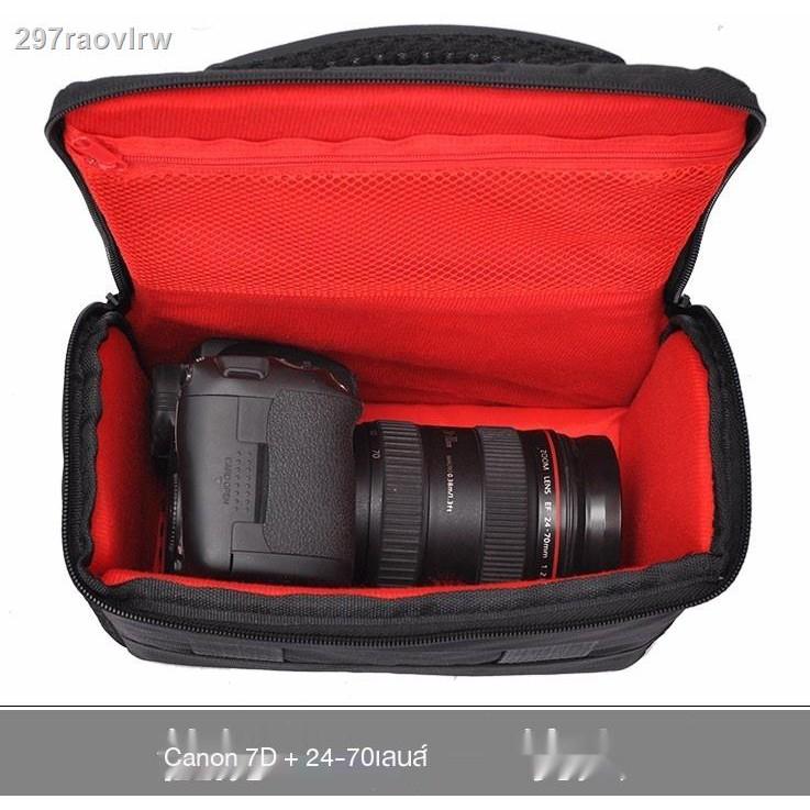 ►☃❡กระเป๋ากล้อง Canon SLR EOS RP 450D 500D 200D กระเป๋าถ่ายภาพเดินทาง 4000D รุ่นที่สอง