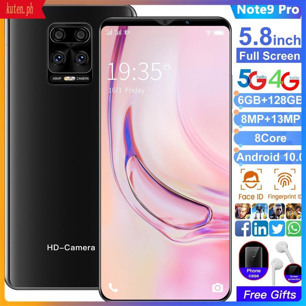 ANDROID โทรศัพท์มือถือ Huawei Nqd Nowa7 Pro / Note9S Pro 6 . 1 นิ้ว 6 Gb + 128 Gb