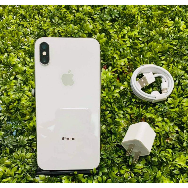 iphone x 64 g white มือสอง
