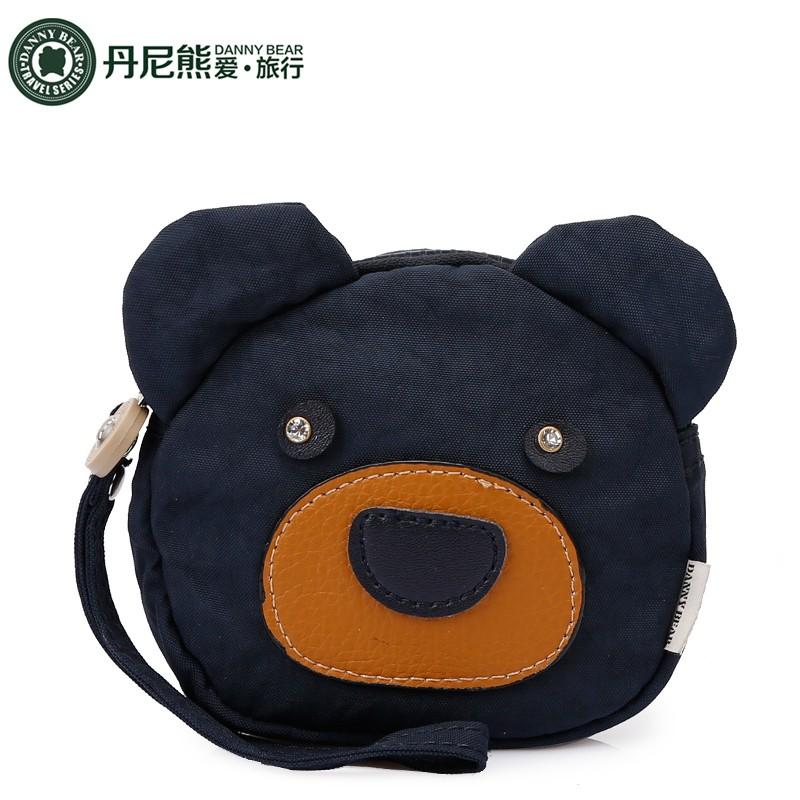 Danny Bear / Danny Bear Mall กระเป๋าใส่เหรียญหมีน่ารักแบบเดียวกันกับผ้าซักผ้าคลัตช์ DBTS59576