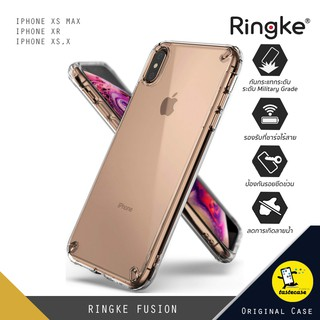 Review REATH RINGKE Fusion เคสกันกระแทกสำหรับ iPhone XS Max, iPhone XS,X และ iPhone XR สีใส (Clear)