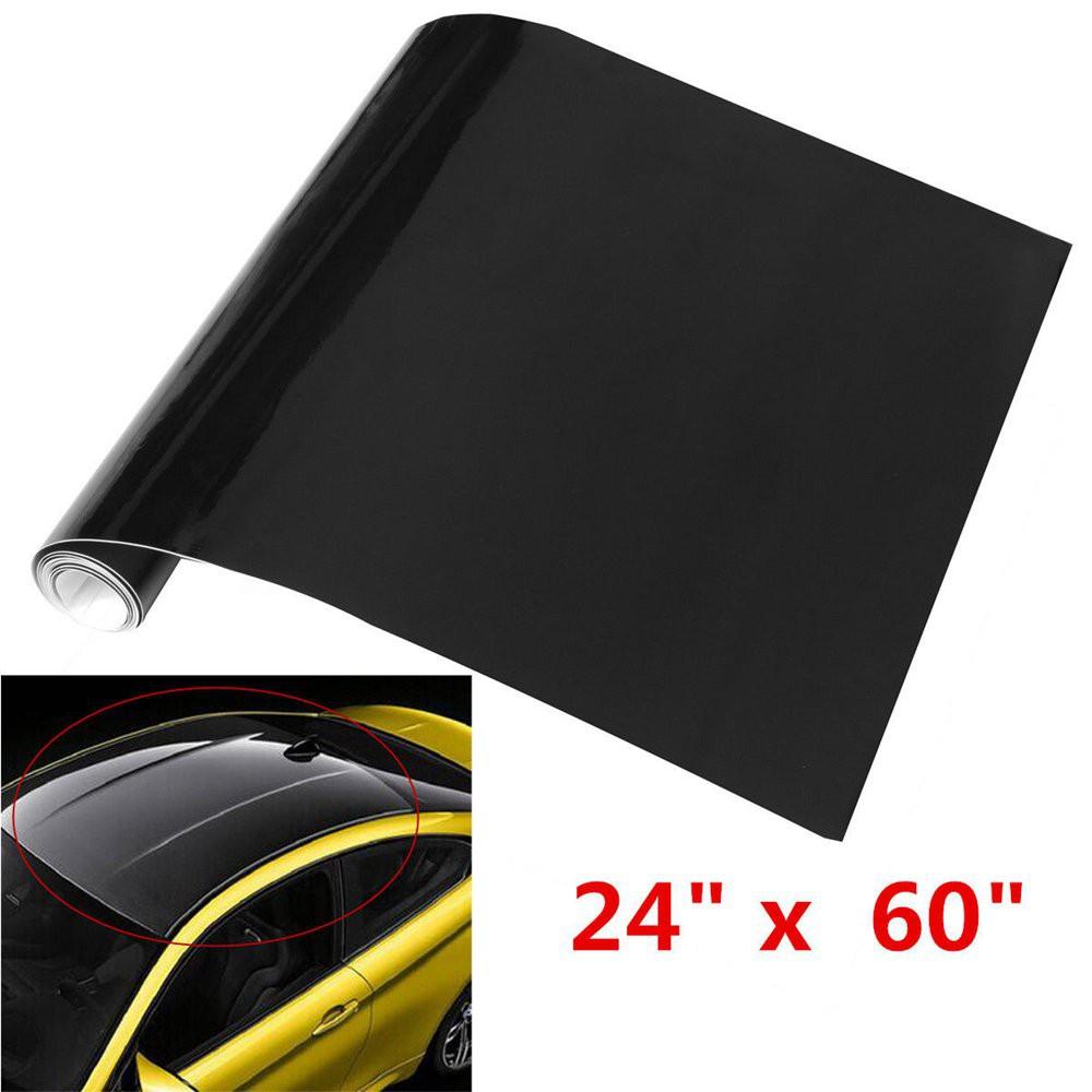 hot Glossy Cars Sunroof Wrap Roof Film Vinyl DIY Sticker Waterproof Air Release
