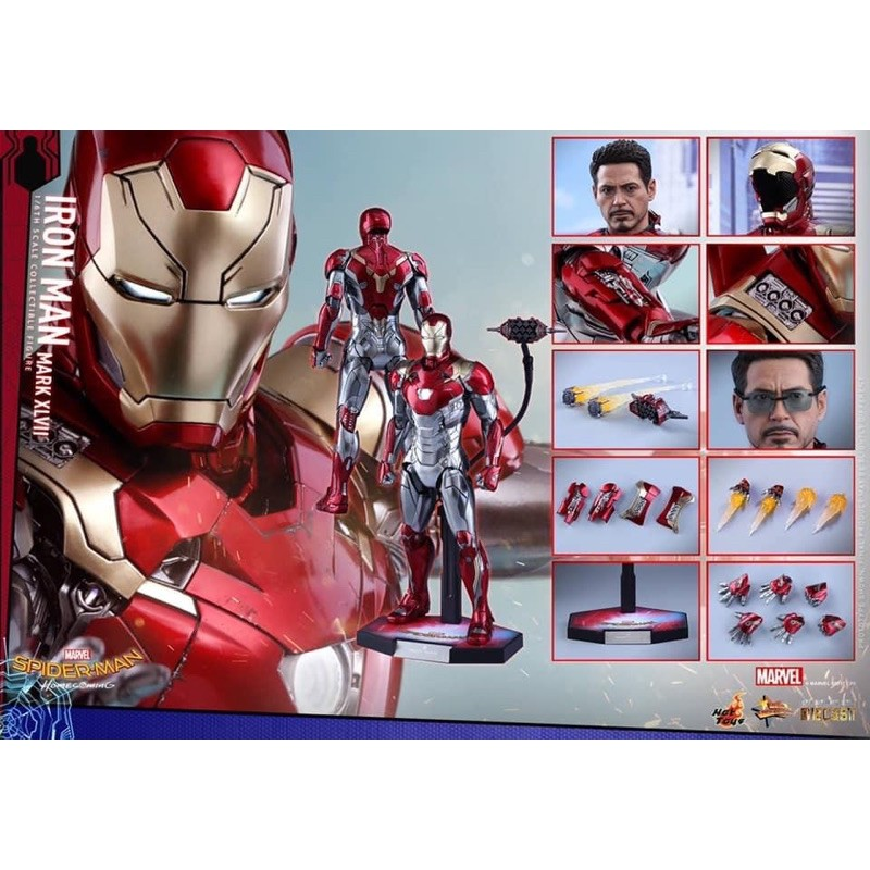 Hot toys Iron Man Mark 47 Reissue