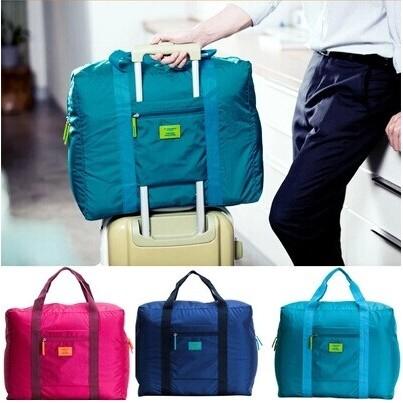 ✅ (4 สี) กระเป๋าเดินทาง มีช่องสอดกับกระเป๋าล้อลาก