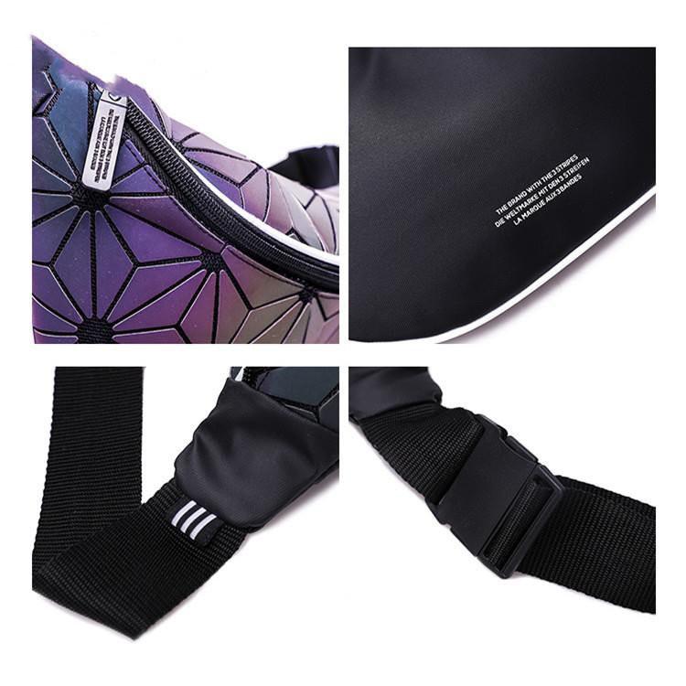 KX09 5 Colours Adidas 3D Mesh Issey Miyake Unisex Sling Waist Chest Bag