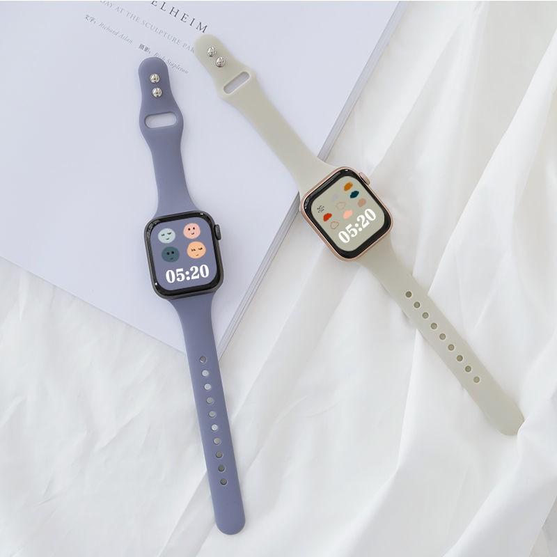 สายนาฬิกาข้อมือซิลิโคนสําหรับ Applewatch5 / 4 / 3 / Se Applewatch 6