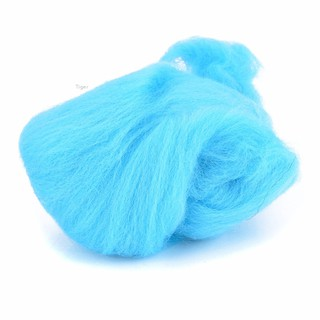 Tiger✨New 60g MERINO Wool Oceanic Blue Shades Dyed Wool