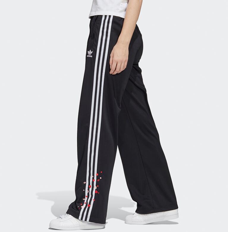 Adidas Original Women's Crop Pants Sweatpants,Flared Casual Loose Sports Pants Joggers   GK7178  Women Pants McDm