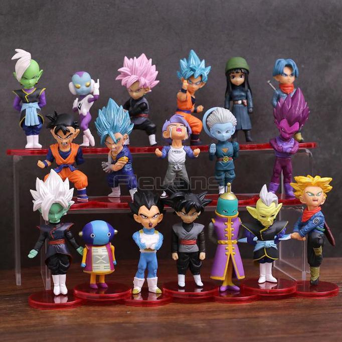 ชุดฟิกเกอร์ Dragon Ball Super Figure 18 ชิ้น
