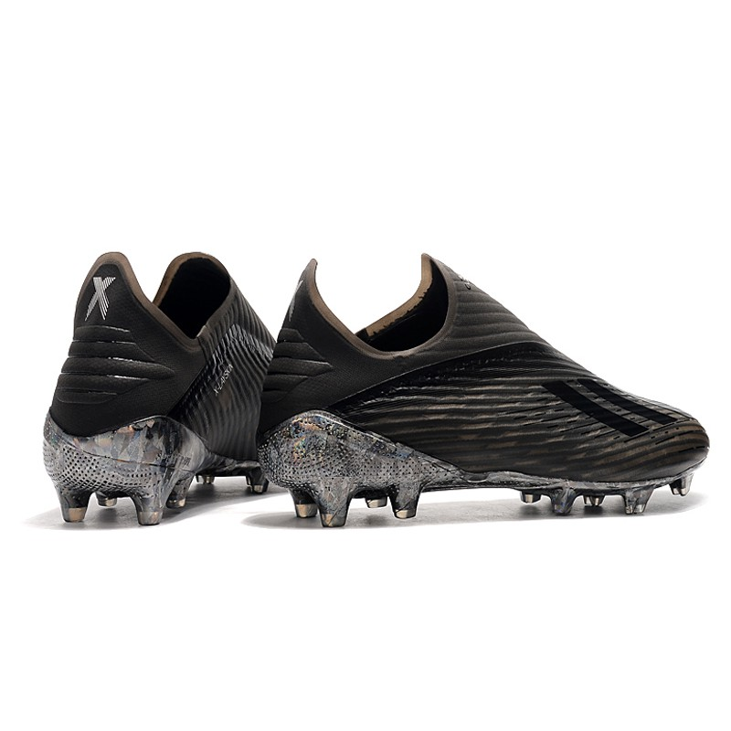 sports shoes 68a66 92365 Adidas X 19+ FG Football Ace Men's/women's Shoes Color : Inner Game ,  Silver red , Dark Script