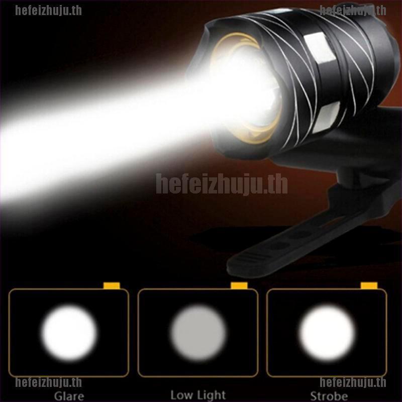 [ hefei ] ไฟฉาย LED 15000 LM XM-L T 6 LED สำหรับติดรถจักรยาน