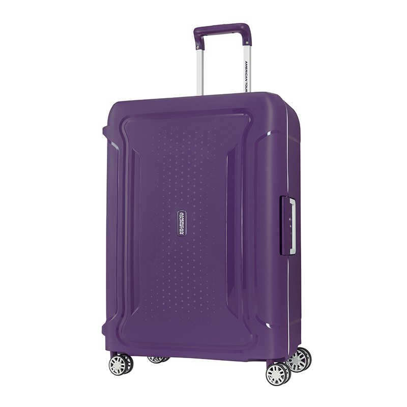 AMERICAN TOURISTER กระเป๋าเดินทางล้อลาก (20,25,29นิ้ว) รุ่น TRIBUS SPINNER 55/20 สี PURPLE