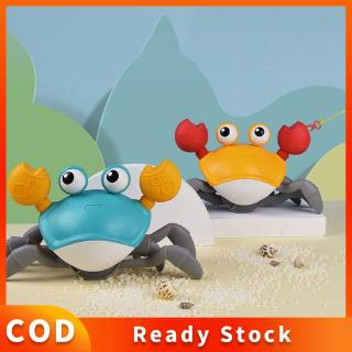 ❥Ready Stock❥ Beach big crab on the chain water and land toys children drag toys baby baby bath toys ✨ya