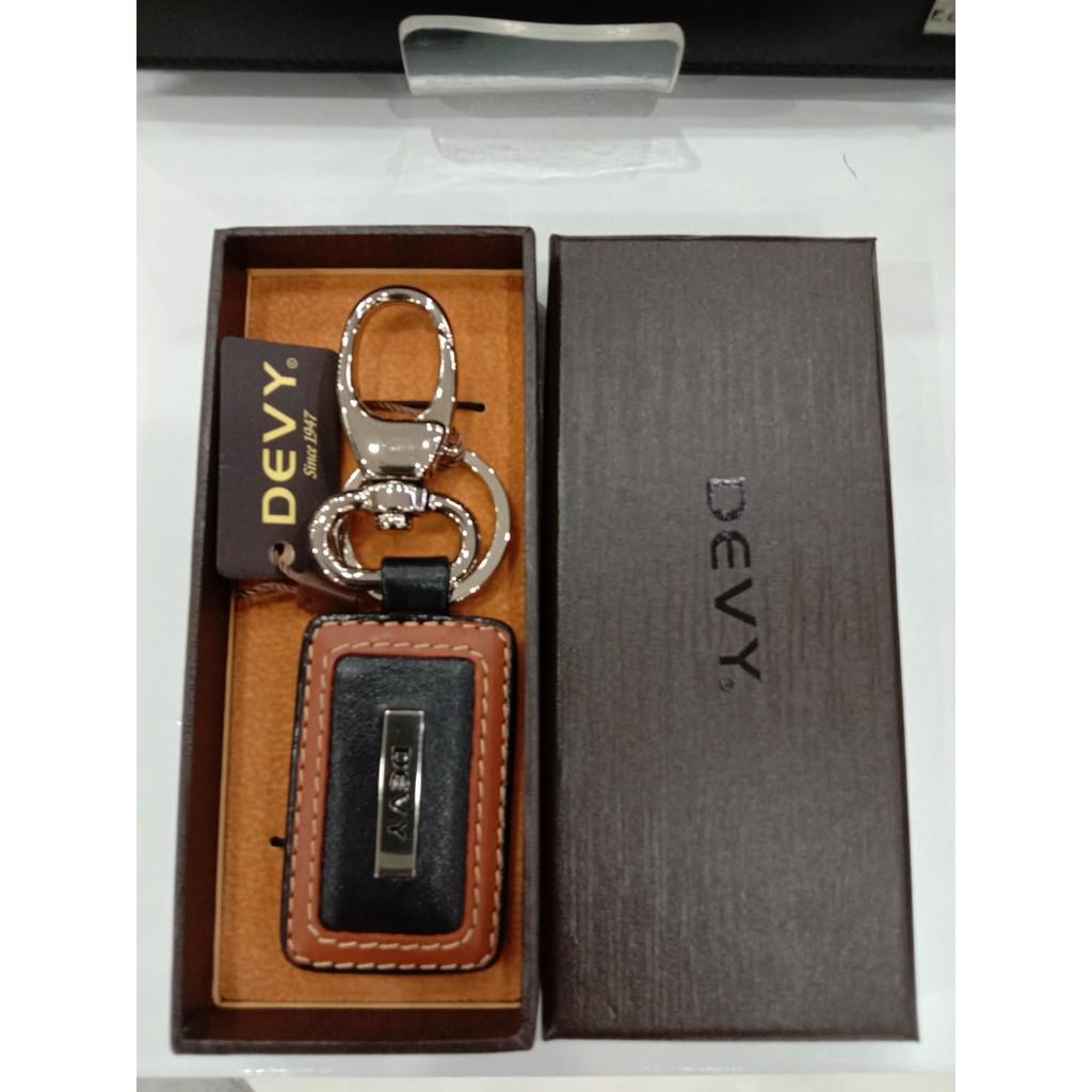 พวงกุญแจ Devy N89 สีน้ำตาลอ่อน -ดำ