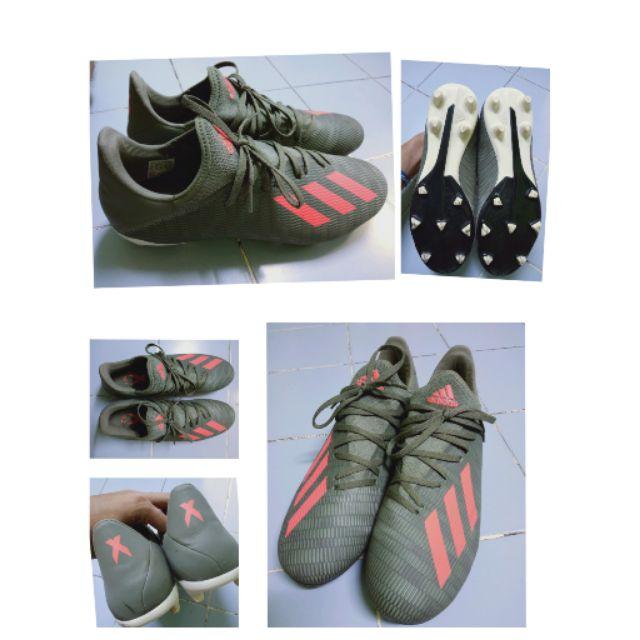 รองเท้าสตั๊ด adidas x19.3fg มือสอง