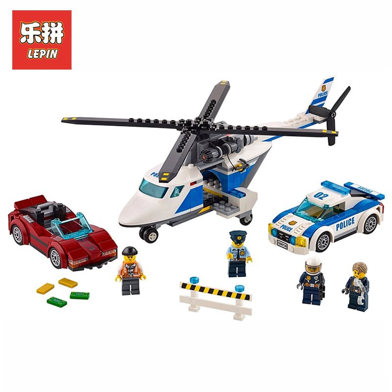LEGO 60138 City Police High-Speed Chase Building Toy