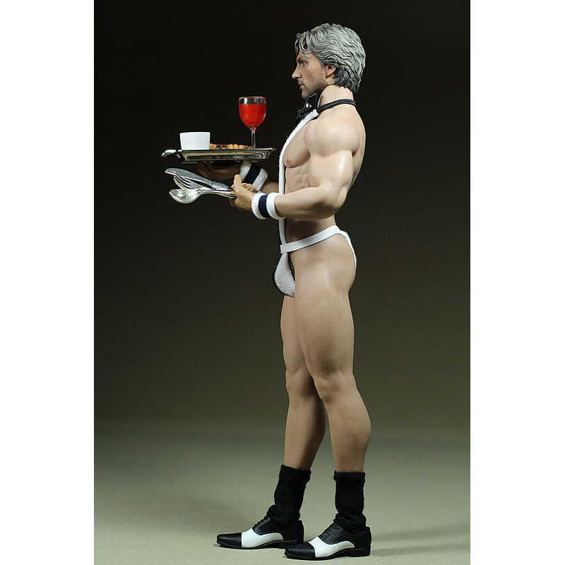 "1:6 Scale Waiter Suit for 12/"" Phicen M34 Male Muscular Body Models Without Body"