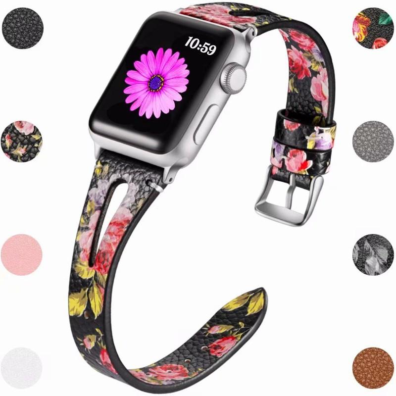 สายนาฬิกาข้อมือสําหรับ Apple Watch 5 Band 44 มม . Iwatch Series 4 3 2 1 42 มม .