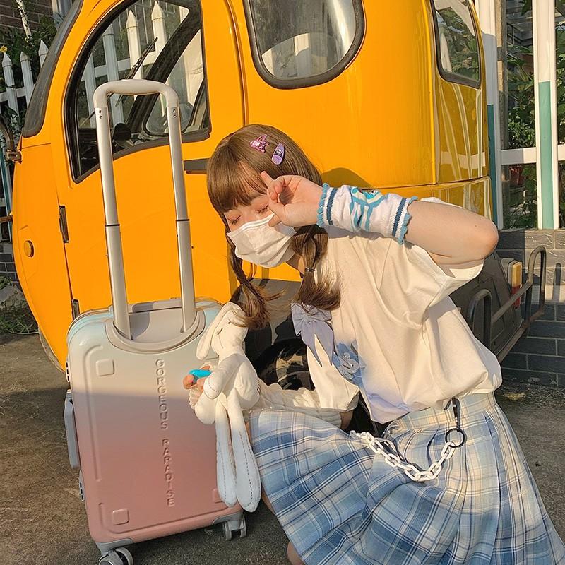 กระเป๋าเดินทาง Nakuru ขนาดเล็ก 24 นิ้ว R1Se สําหรับนักเรียน