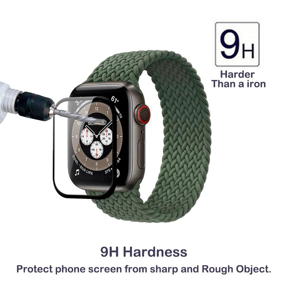 ฟิล์มกันรอยหน้าจอ 3 D สําหรับ Apple Watch Series 6 Se 40 มม . 44 มม .
