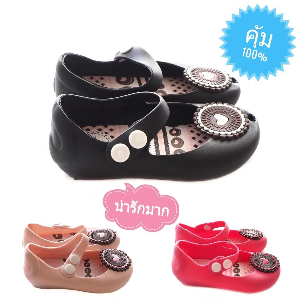 Sustainable รองเท้าเด็กรูปหัวใจ รองเท้าคัชชูเด็ก รองเท้าเด็กผู้หญิง รองเท้าเด็กลายหัวใจ รองเท้าเด็กลายการ์ตูน รองเท้าเจ้