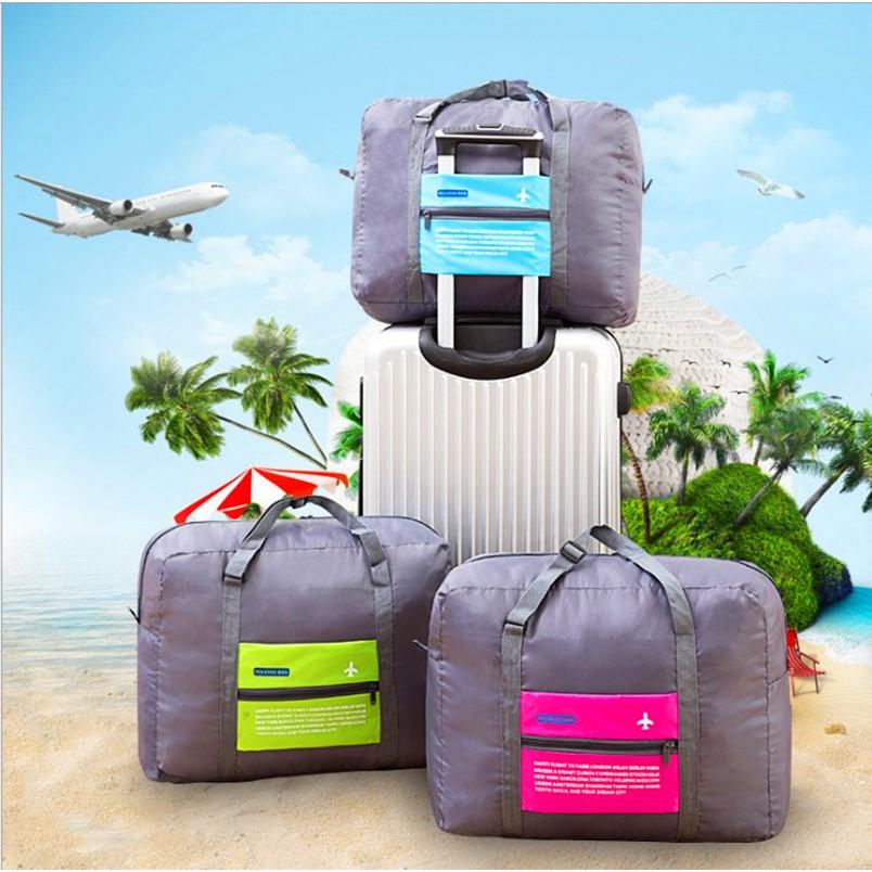 กระเป๋าเดินทางกระเป๋าเครื่องบินแบบพับได้ 32 L