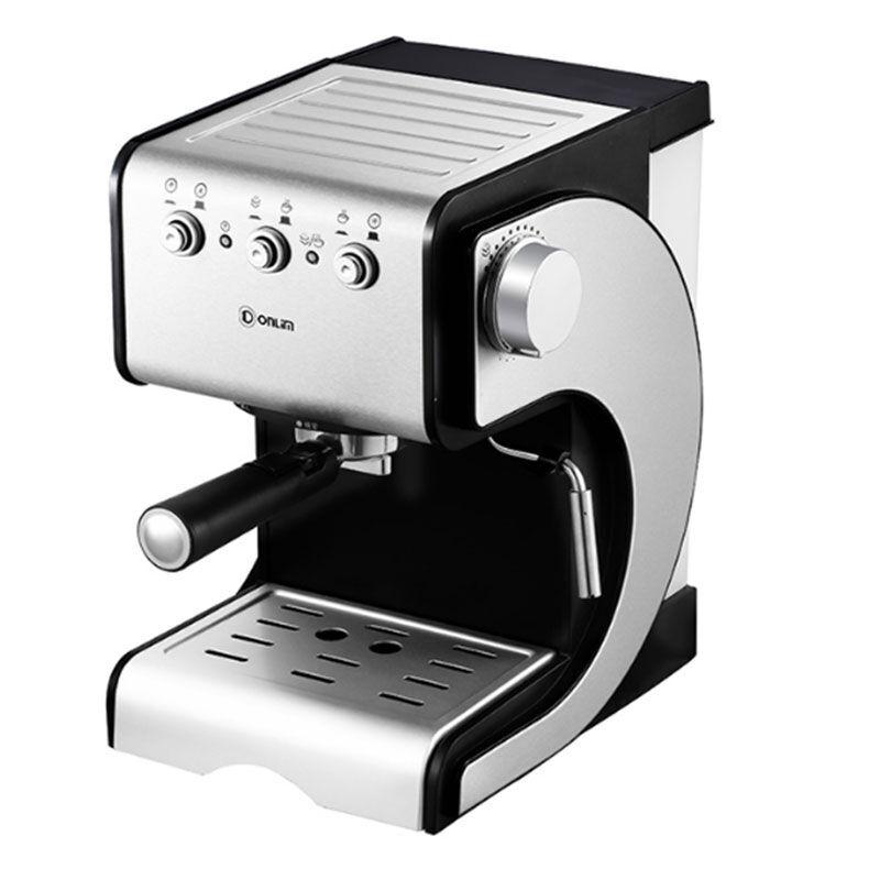 DFDonlimเครื่องชงกาแฟ บ้านกึ่งอัตโนมัติอิตาลีเครื่องทำนมเครื่องชงกาแฟ เครื่องชงกาแฟแคปซูลDL-KF500S