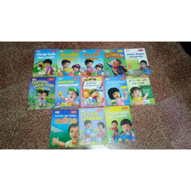 หนังสือ Paud Children ' S Activity Books (Talking Books Series) ของเล่นเด็ก
