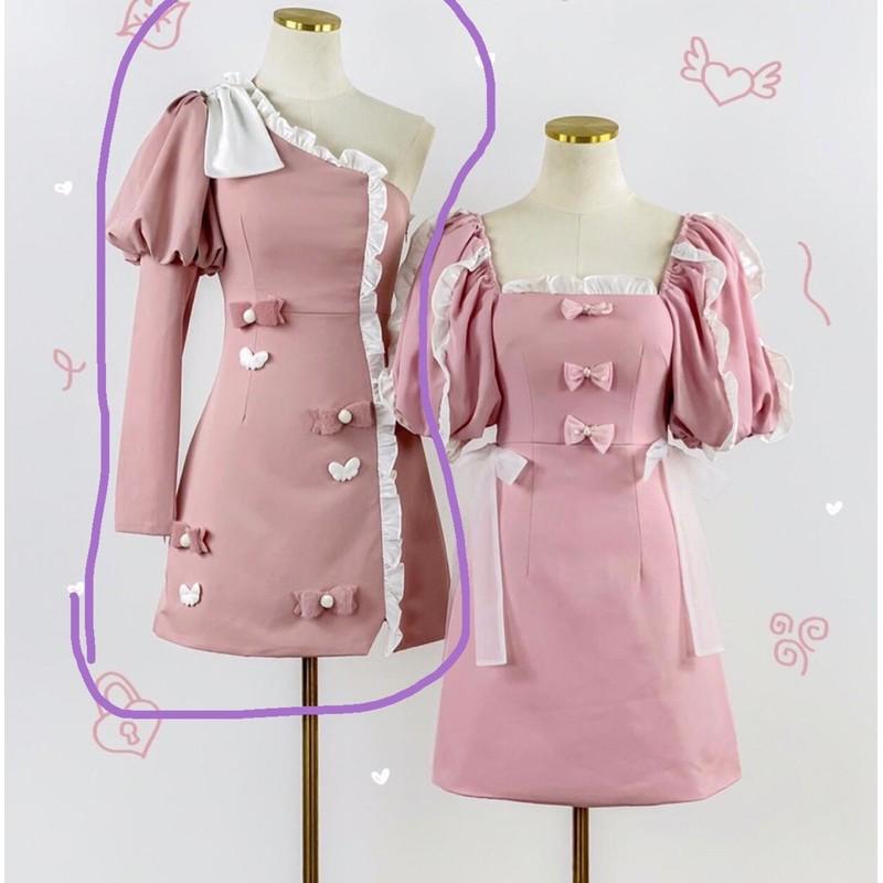 เดรส BLT (Brand)สีชมพู