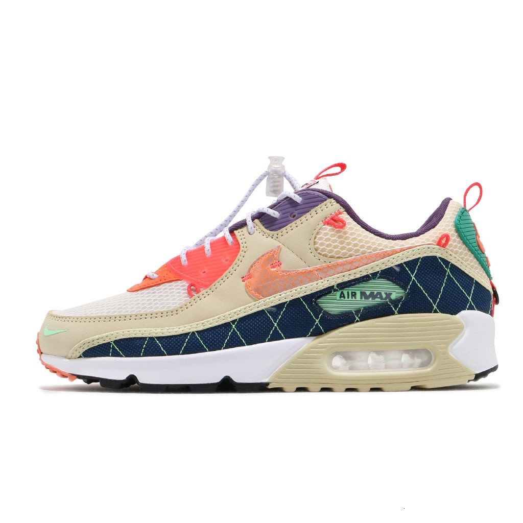 OriginalNike Leisure Shoes Air Max 90 Trail Outdoor Men's and women's casual sports shoes fashion all-match running shoe