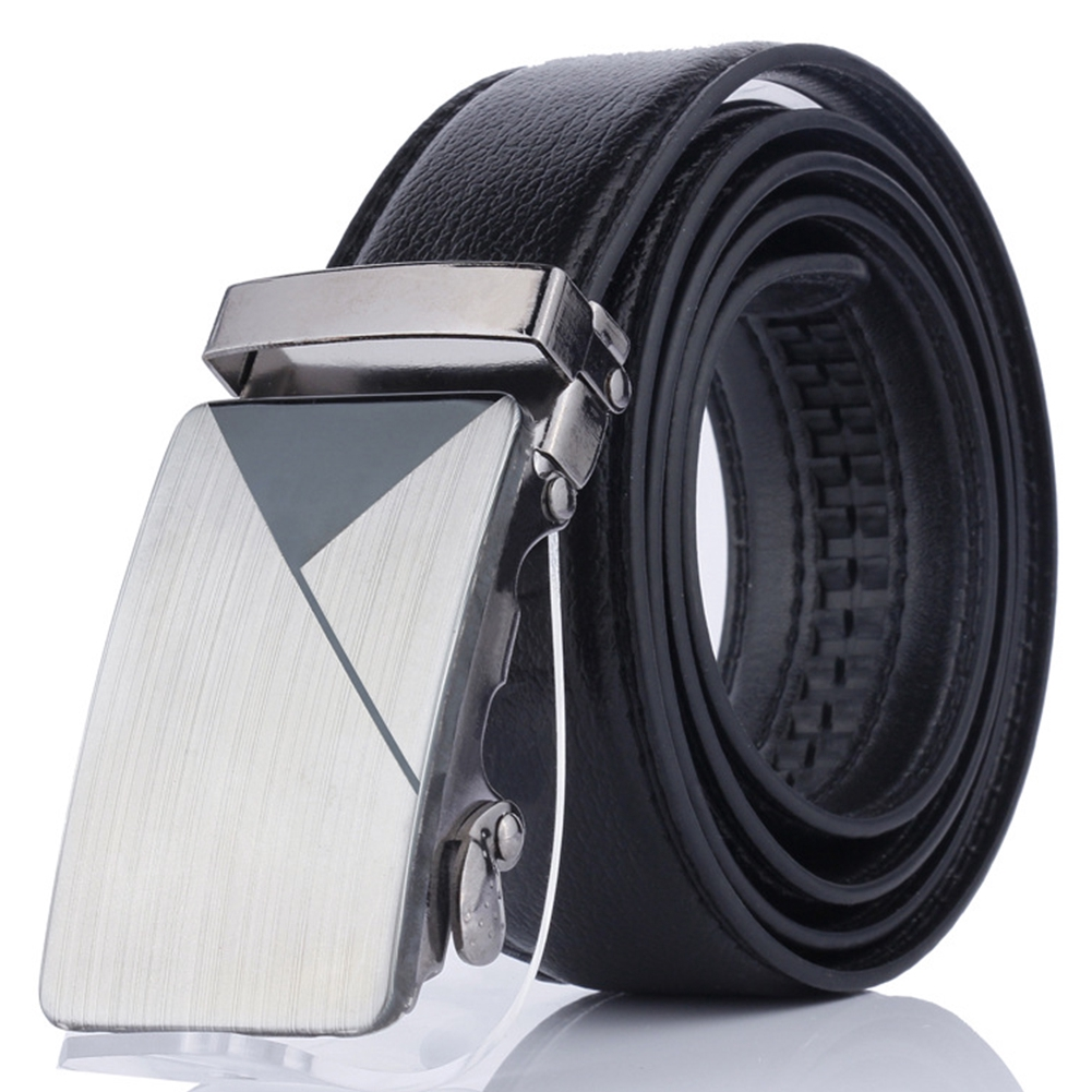"""Silver PVC Plastic Belt 43/"""" Length Ling Width 2/"""" with Buckle silver plastic 1pc"""