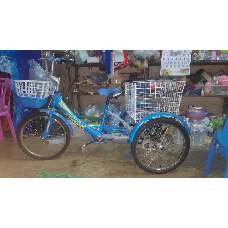 จักรยานสามล้อไฟฟ้า ล้อขนาด 20 นิ้ว สภาพเหมือนมือหนึ่ง