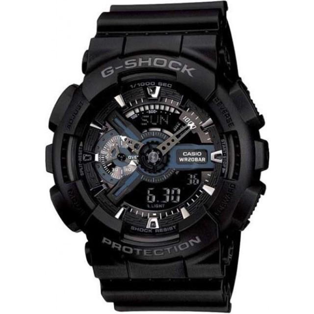 ลดราคา ️ นาฬิกา G-SHOCK GA-110-1B แบล็คฮอร์คในตำนาน ของแท้ ประกัน 1 ปีนาฬิกา casio ผู้หญิงนาฬิกา casio ชาย