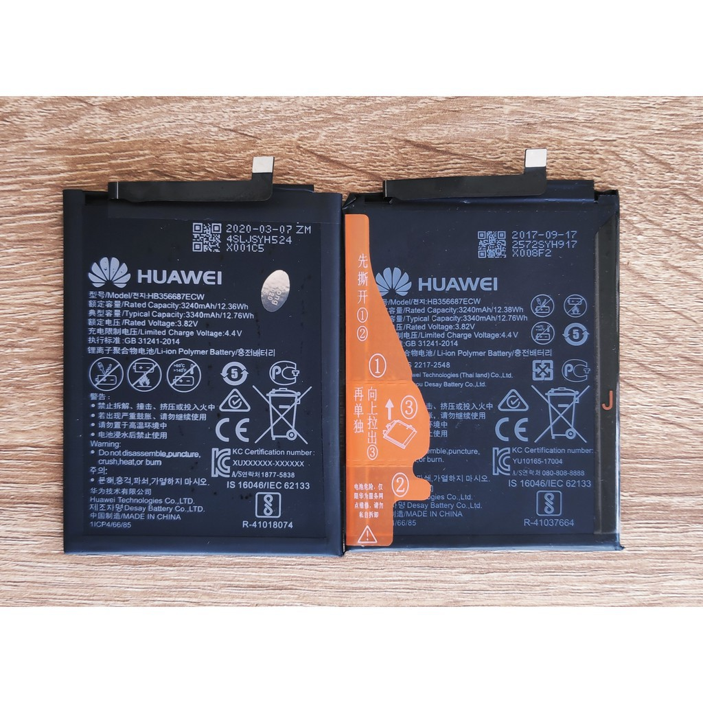 ♥♥♥    แบตเตอรี่ Huawei Nova 2i / Nova 3i / Nova 2 Plus / Mate 10 Lite / Battery HB356687ECW แถมชุดอุปกรณ์เปลี่ยนแบต eS3