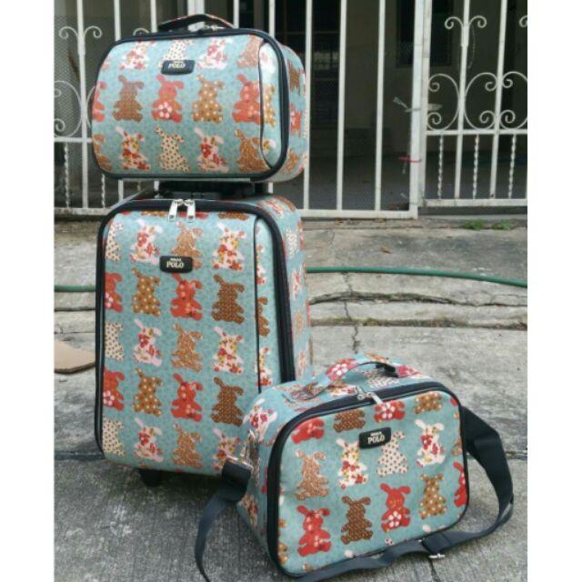 กระเป๋าเดินทาง Roma polo แท้
