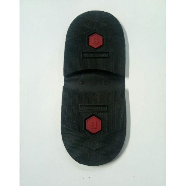 ยางดำติดส้นรองเท้าคัชชู/ตามต้องการ (Bบาง)