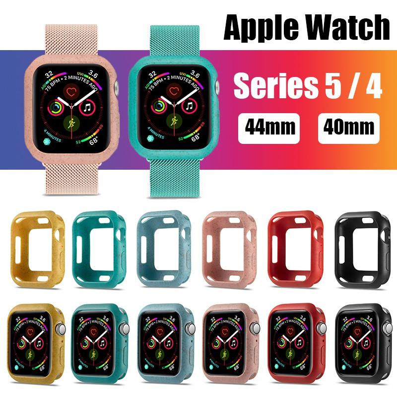 เคสซิลิโคนสําหรับ Apple Watch Series 5 4 Case 2019 44 มม . 40 มม .