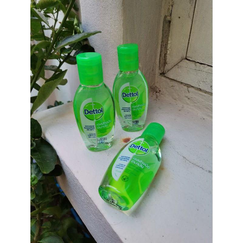 เจลล้างมือเดทตอล (dettol)