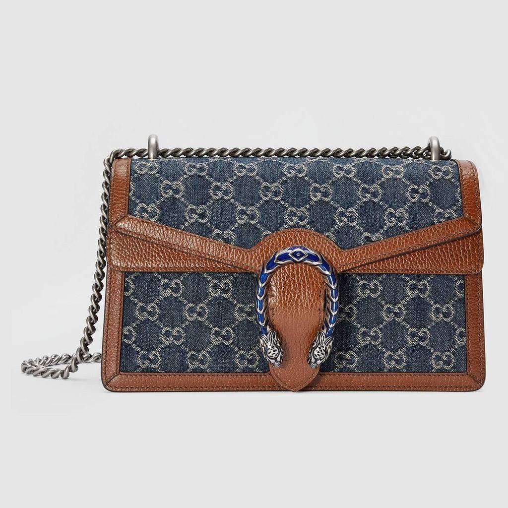 Gucci / แบบใหม่ / GG Dionysus series กระเป๋าสะพายใบเล็ก / ชุด Epilogue / กระเป๋าถือเด็กผู้หญิง / ของแท้ 100% / 20-28CM