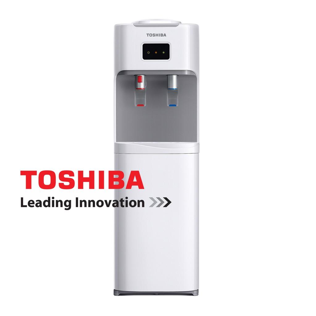 ตู้กดน้ำ/เครื่องทำน้ำร้อน-น้ำเย็น TOSHIBA รุ่น RWF-W1664TK