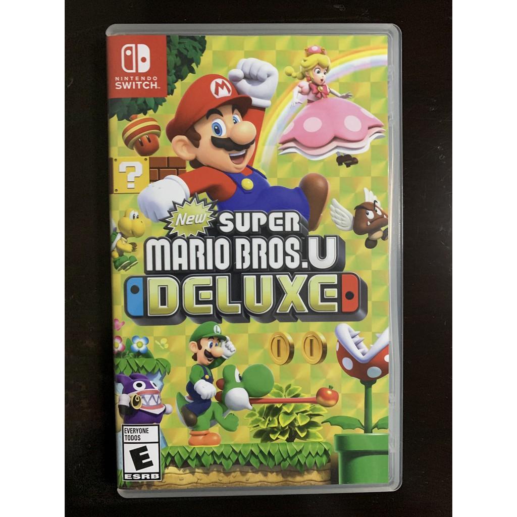 Super Mario Bros Deluxe u มือ2และมือสอง Nintendoswitch game มือสอง Mario Bros u