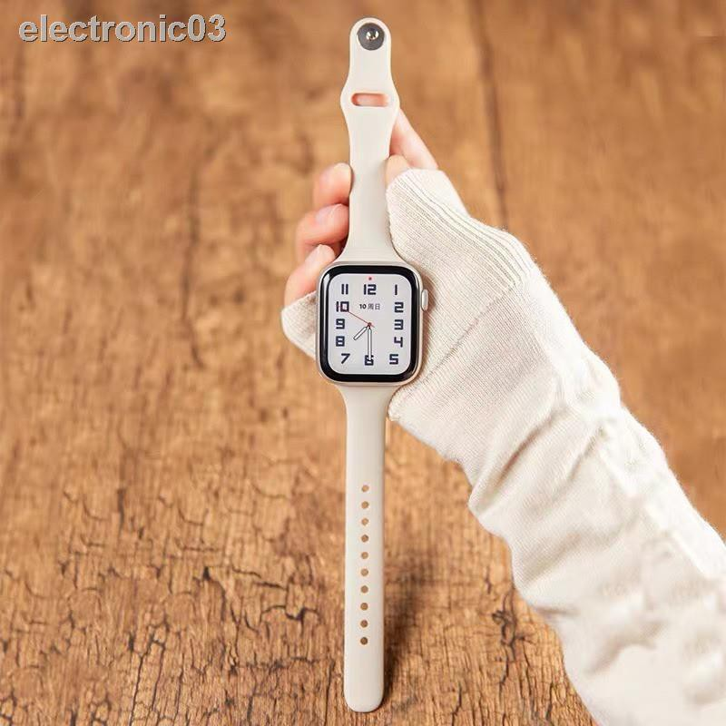 ✐*READY STOCK* พร้อมส่ง‼️สาย สำหรับ Apple Watch สีมาใหม่ series 6 5 4 3 2 1 สำหรับapplewatch ขนาด  42mm 44mm 38mm 40mm