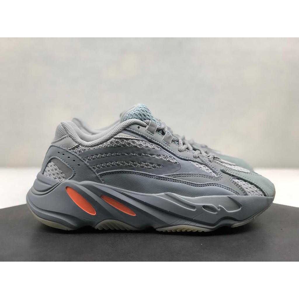 (Adidas) Yeezy Boost 700 V2 พ่อรองเท้ารองเท้าออกกำลังกายผู้ชายและรองเท้าผู้หญิงแฟชั่นสบายผลิตภัณฑ์เดิม