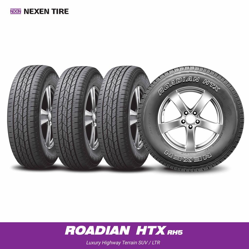 [ติดตั้งฟรี 265/65R17] NEXEN ยางรถยนต์ รุ่น ROADIAN HTX RH5 (4เส้น) (สอบถามสต็อกก่อนสั่งซื้อ)