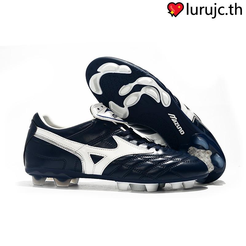 ⚽💖wave cup legend รองเท้าผู้ชาย มินซ่า mizuno morelia ii made in japan fg football shoes 39-45