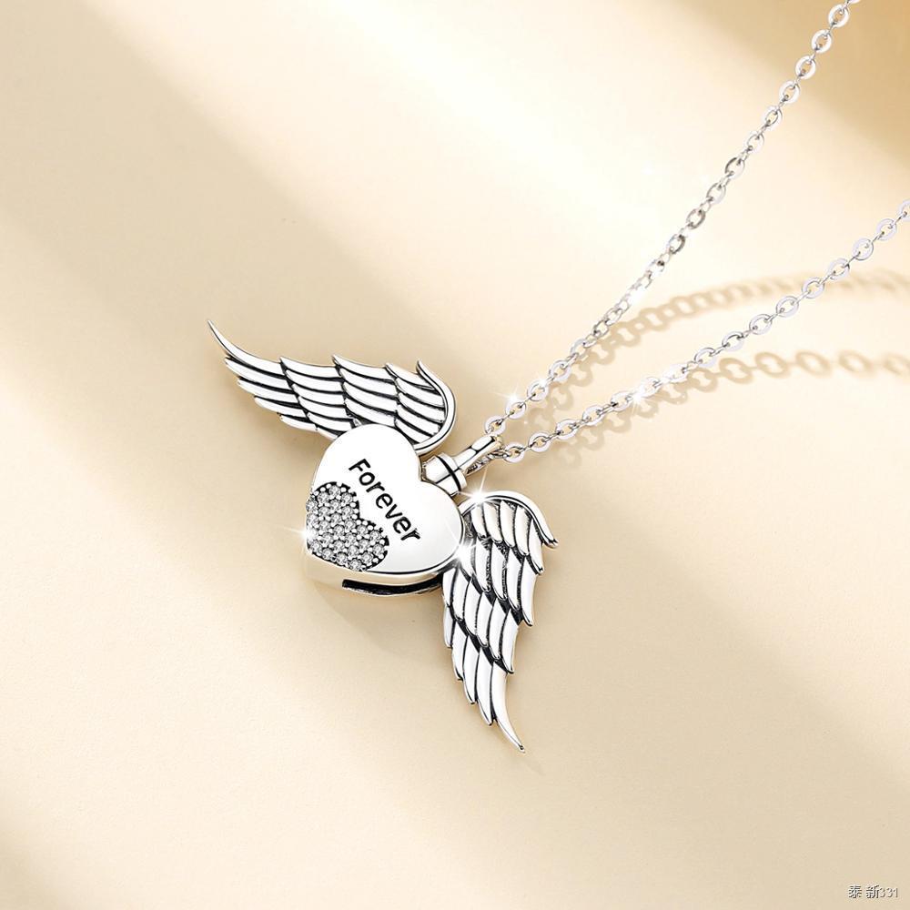Eudora 925 Sterling Silve Heart Wing