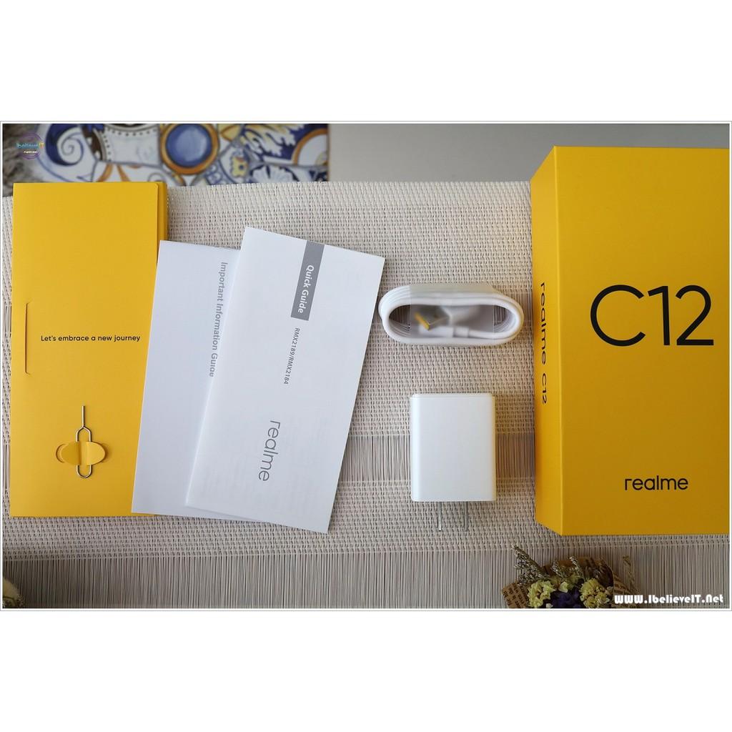ทักแชทก่อนซื้อ เครื่องพร้อมรายเดือน Realme C12 Ram 3+32GB เครื่องใหม่  เครื่องศูนย์ไทย ประกัน 1 ปี | Shopee Thailand