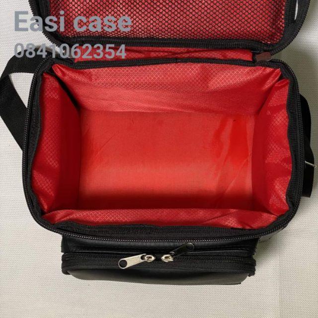 กระเป๋าใส่ลำโพง บลูทูธ    Marshall Kilburn 1,2 ตรงรุ่น     จาก  Easi case.   (หนัง ) PVC ขนาด  24*14*16 ซม.   W D Hperfu