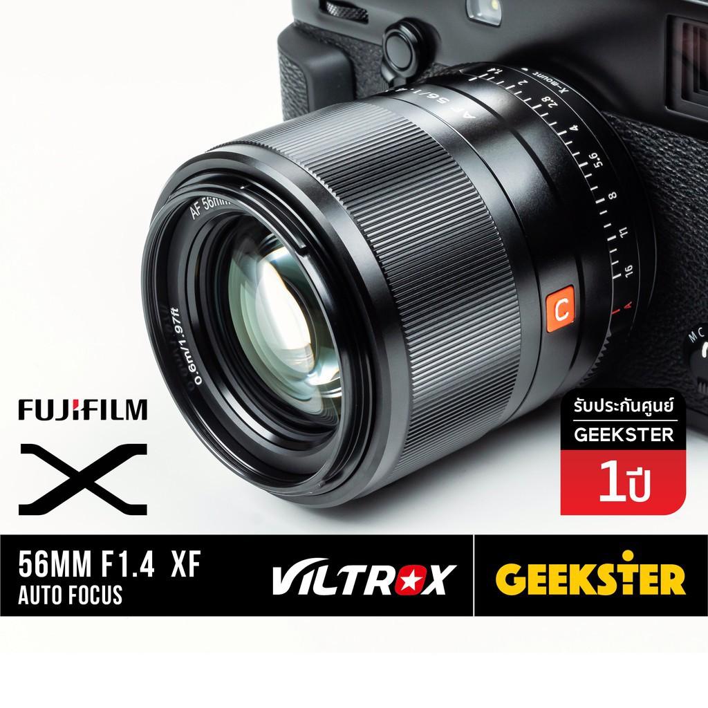 ☀🇹🇭 พร้อมส่ง Viltrox 56mm f1.4 FUJI XF พร้อมส่ง Auto Focus 56 mm f 1.4 / 50  ( ฟูจิ )✧